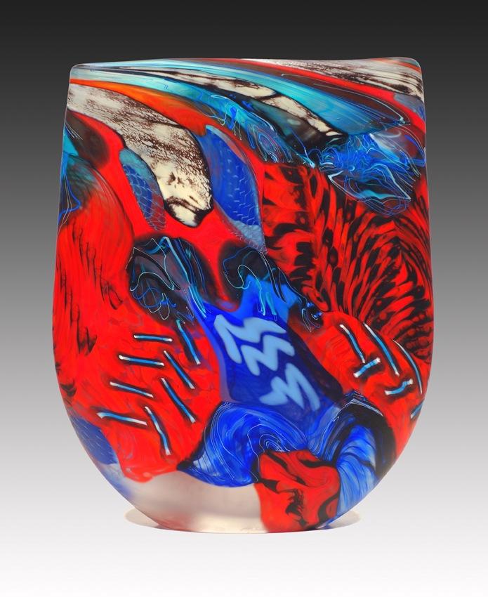 Crimson Lowry - 32 x 26 x 6 - E
