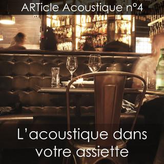 13/07/2018 - ARTicle Acoustique n°4