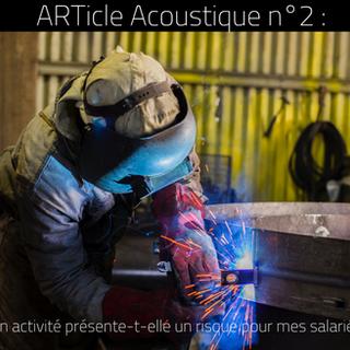01/06/2018 - ARTicle Acoustique n°2