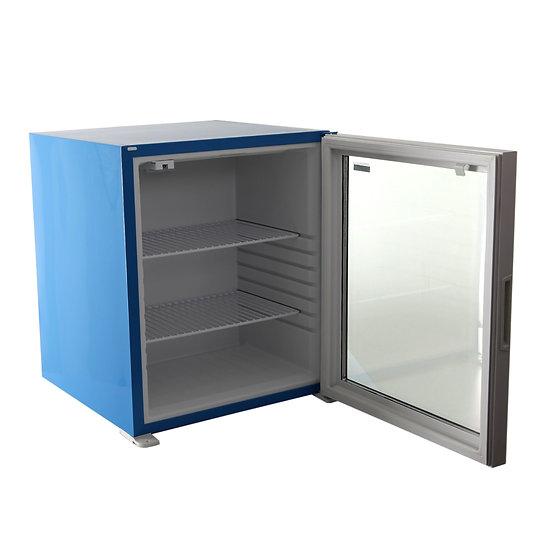Kleo Minibar 60 Litre Cam Kapılı Mavi Renk KMB60CG