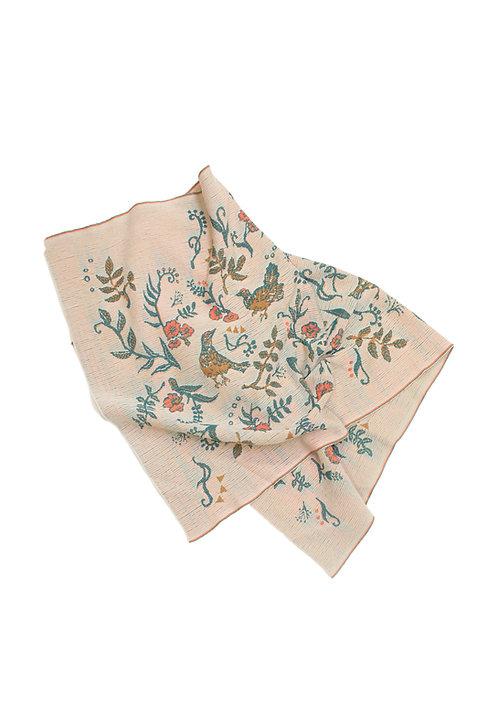 RAICHO Jacquard  Blanket - Beige