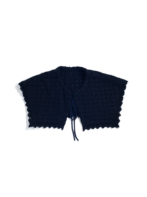 Inray Knitted Collar -Black