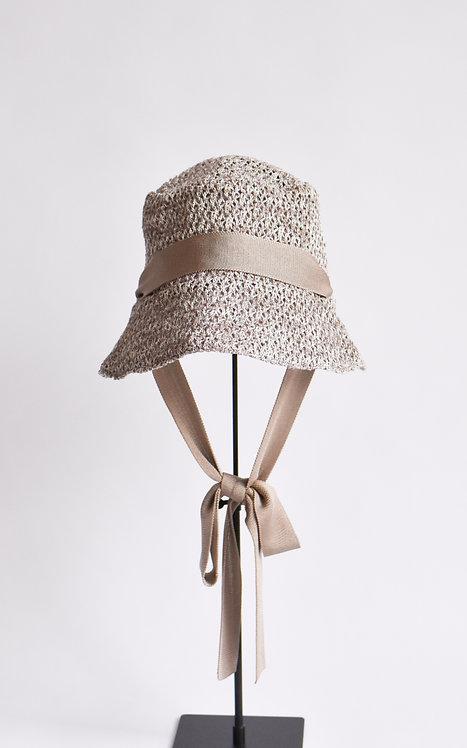 Knitted Hat - Beige