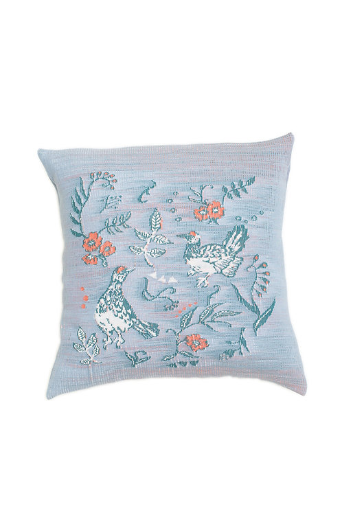 RAICHO Jacquard  Cushion Cover - Blue