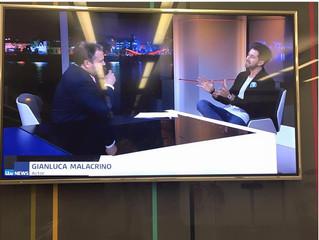 Interviewed On ITV News!