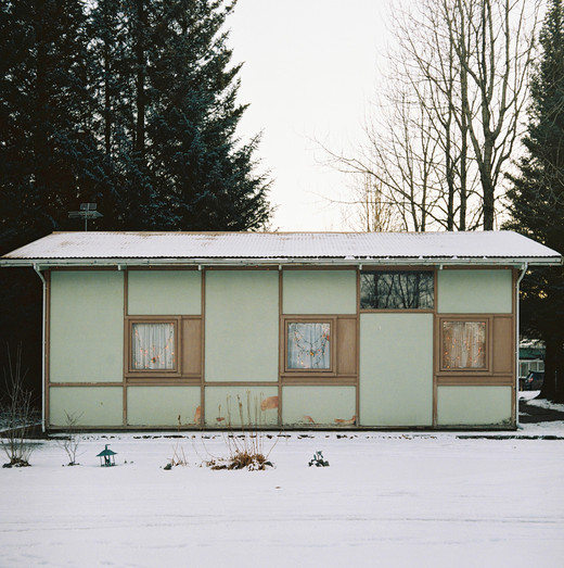 The family convenience store functioning as a worker's house