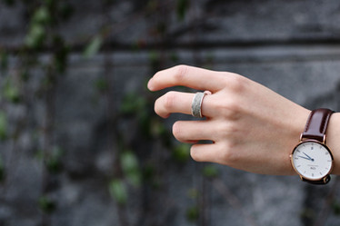 cement ring grey