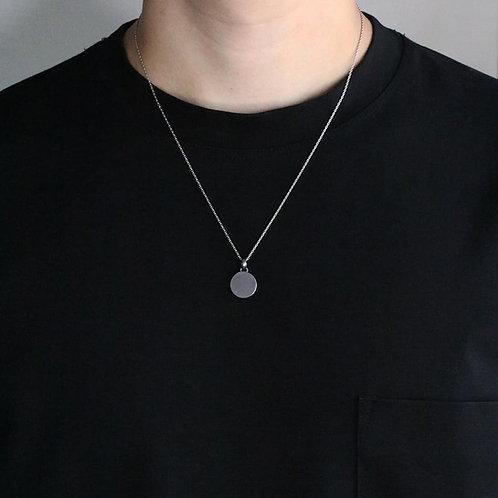 tantalum necklace [planet]