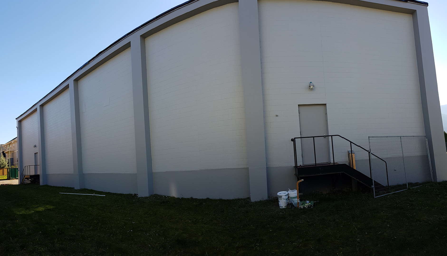 Huge wall