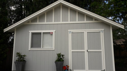 Exterior of a small house