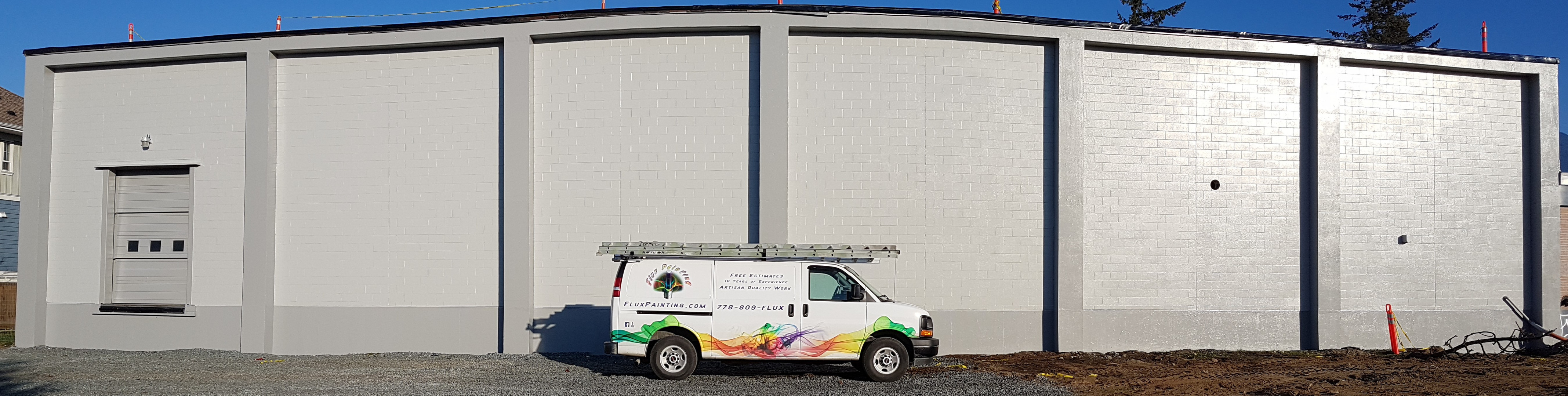 Flux Painting Van