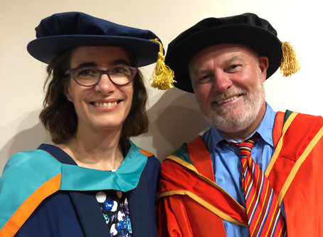 Congratulations Dr Wendy Gers