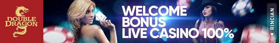 CASINO ONLINE WELCOME BONUS LIVE CASINO 100%