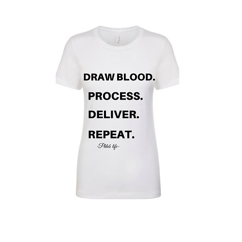 Draw Blood Tee