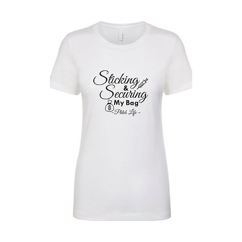 """Phlebotomist Shirt """"Phleb Life"""""""