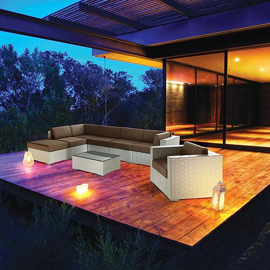 Maple 1Lug S\Braços Lounge Jamaica