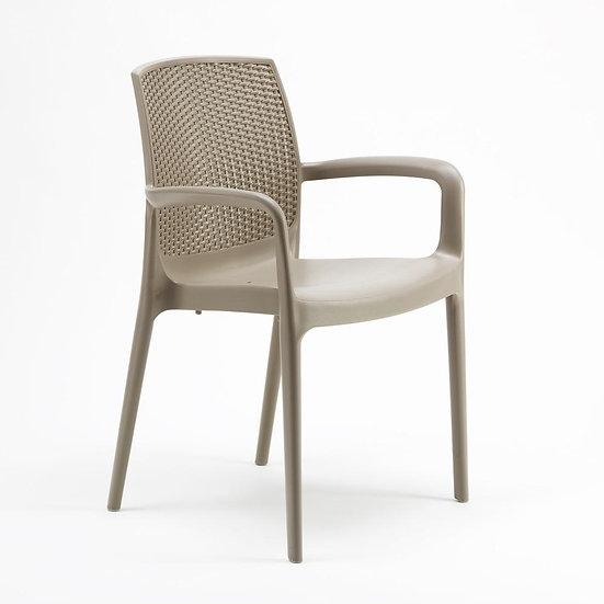 Cadeira C/ Braços BOHEME - Grandsolei-(Greenpool)