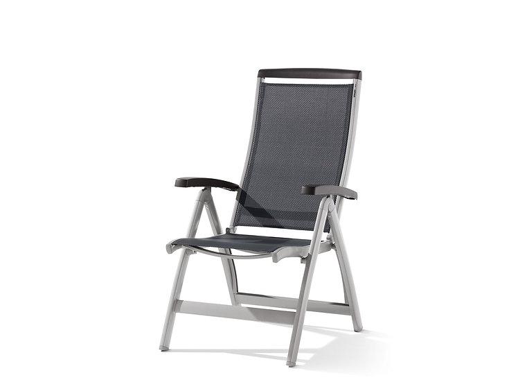 Cadeira C/ Braços Dobrável/ Reclinável Royal 937 Sieger