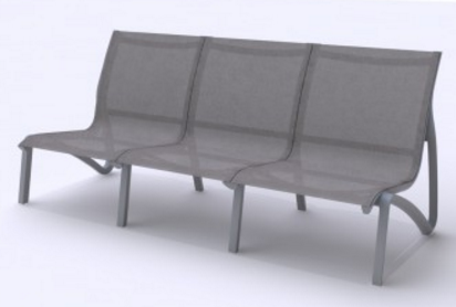 Poltrona 3Lug S/ Braços  SunSet Lounge Grosfillex