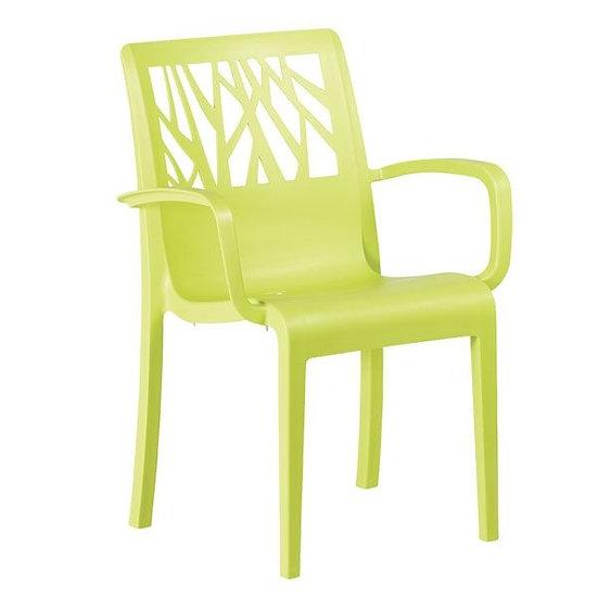 Cadeira C\Braços Vegetal (Varias Cores) Grosfillex