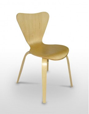 Cadeira Escandinava Verniz Interior