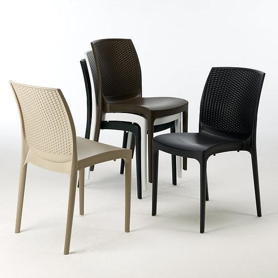 Cadeira S/ Braços BOHEME - Grandsolei- (Greenpool)