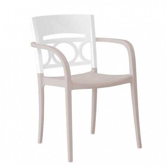 Cadeira C\Braços Moon ( Varias Cores) Grosfillex