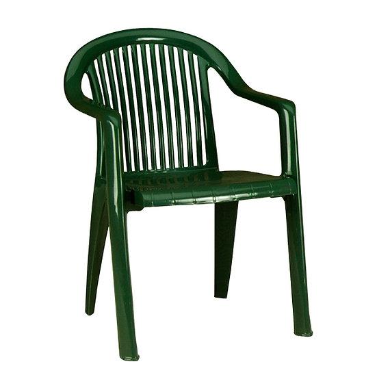 Cadeira C\Braços Branca Fidji\Miami  Grosfillex
