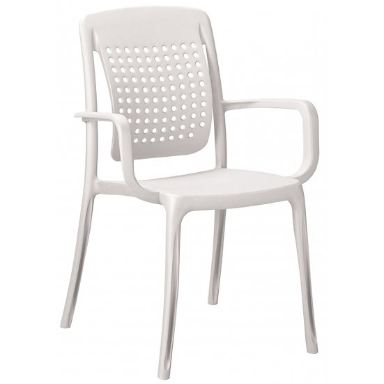 Cadeira C\Braços Factory (Varias Cores) Grosfillex