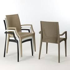 Cadeira C/ Braços RATTAN BISTROT Grandsolei-Greenpool «----»