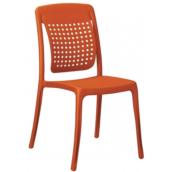 Cadeira S\Braços Factory (Varias Cores) Grosfillex