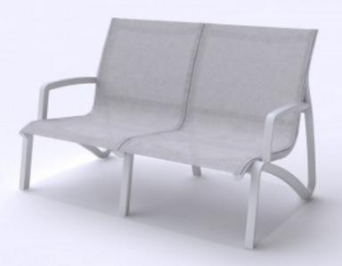 Poltrona 2 LugC/ Braços SunSet Lounge Grosfillex