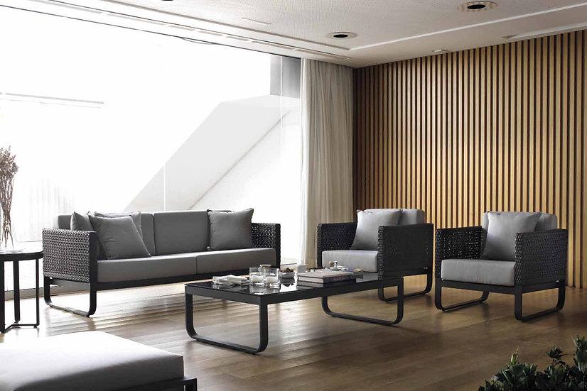 Sofá 3 Lug. Star Lounge  Gabar