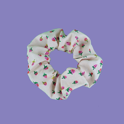 Strawberry Fields Scrunchie