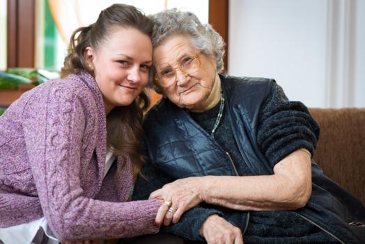 GrandMa-granddaughter