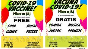 Vaccine Clinic 10/1/21