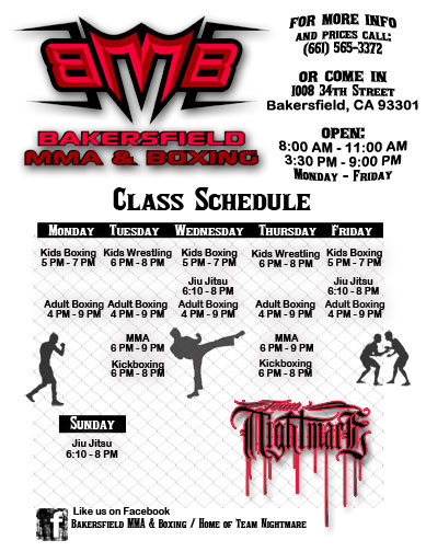 Bakersfield MMA and Boxing