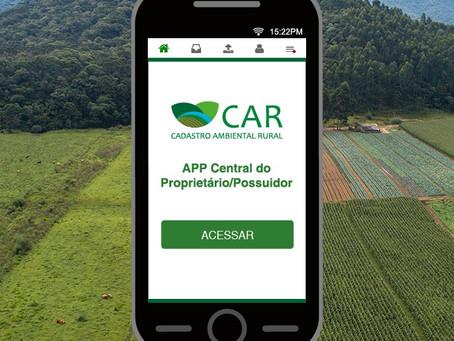 Cadastro Ambiental Rural ganha nova plataforma digital