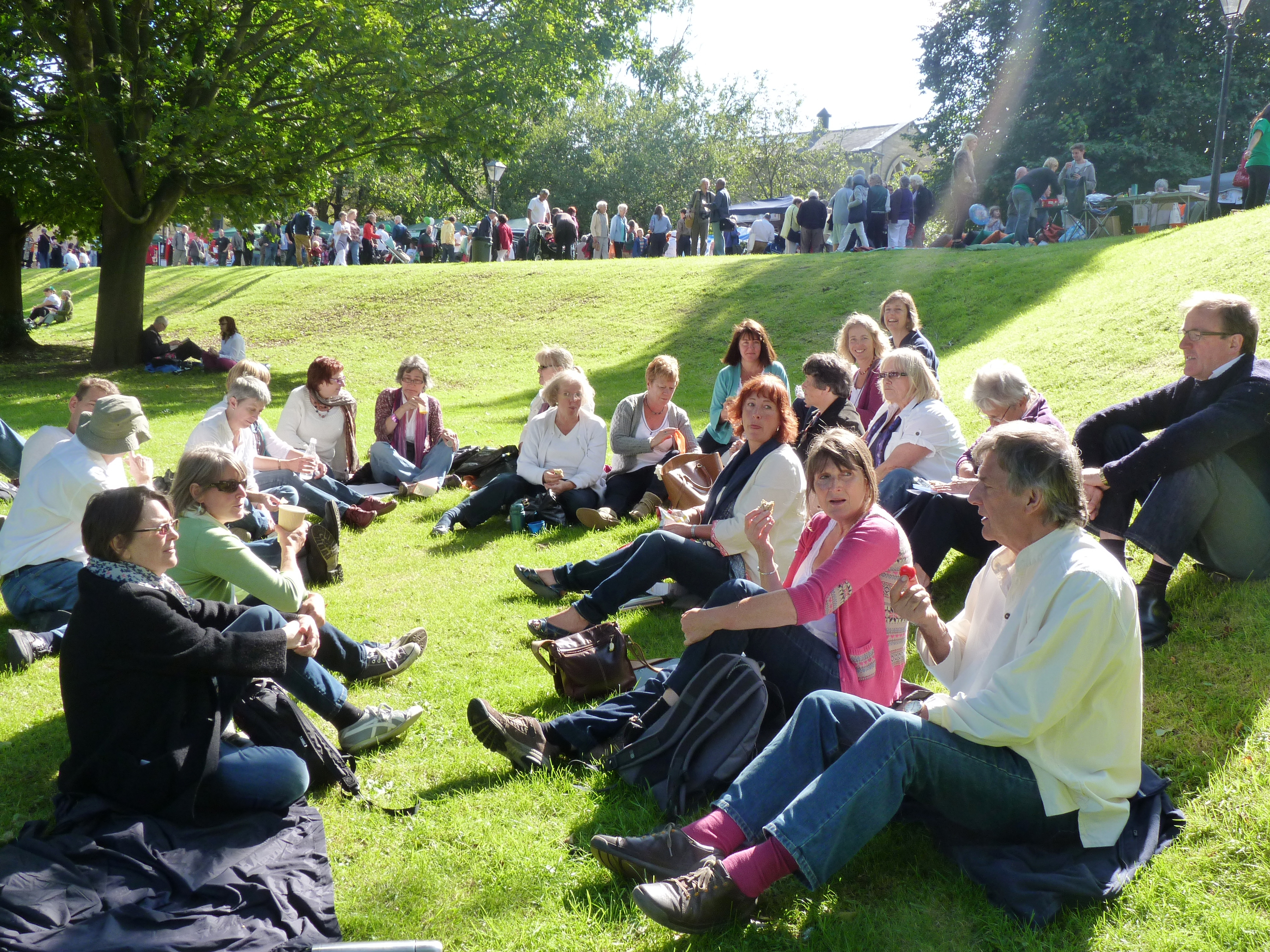 Saltaire Sing, Sept 2012, 1