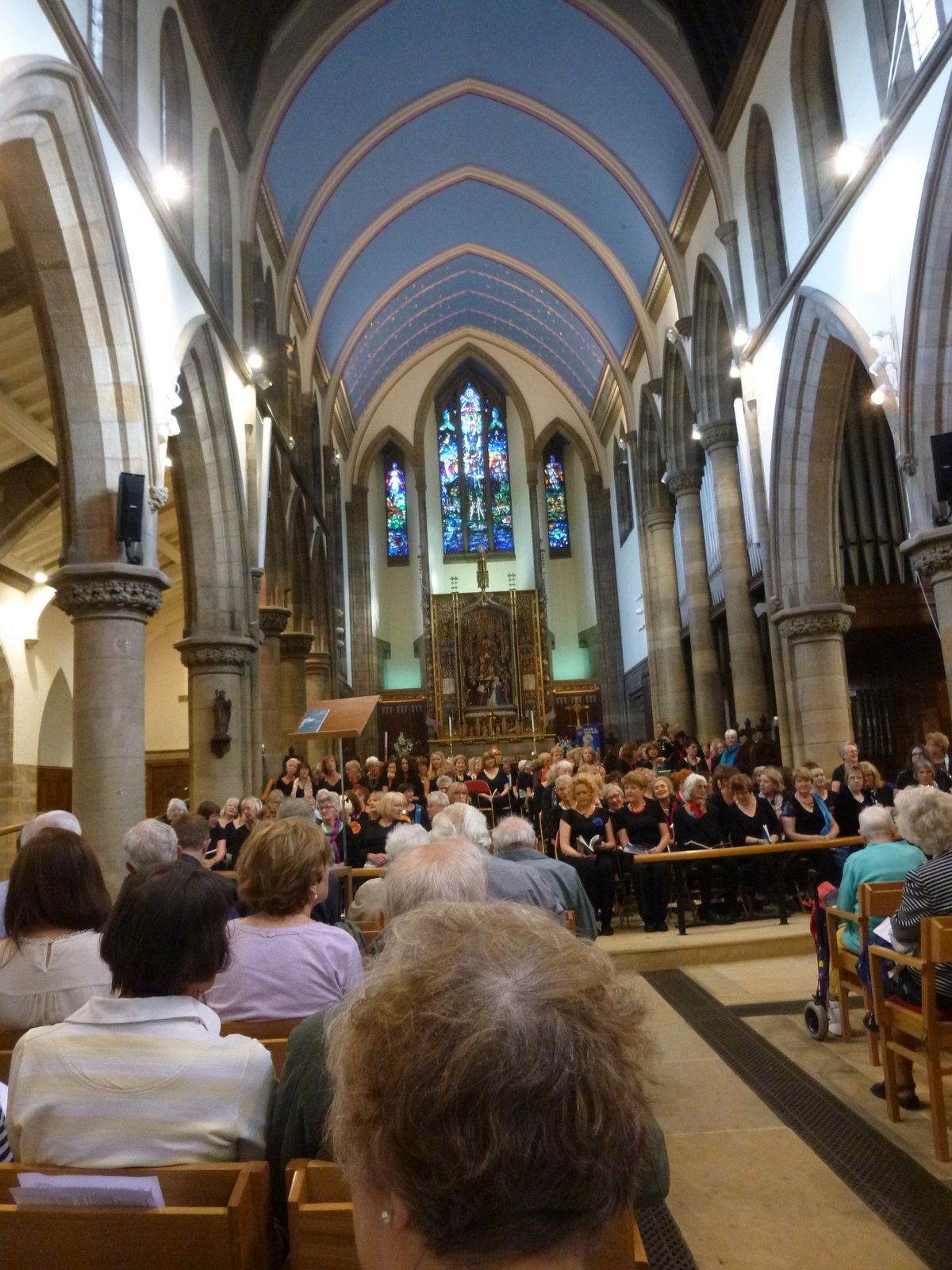 The Armed Man, St Chad's Church, June 2015