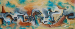 Puzzle - Acrylic on Canvas - 16 x 40 $69