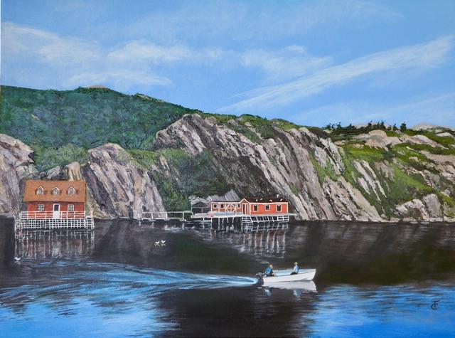 Newfoundland, Setting off