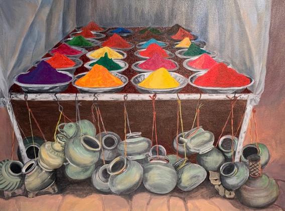 Colours for Holi