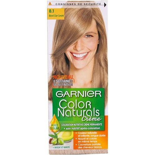 Garnier Color Naturals CrèmeBLOND CLAIR REFLET CENDRE 8.1