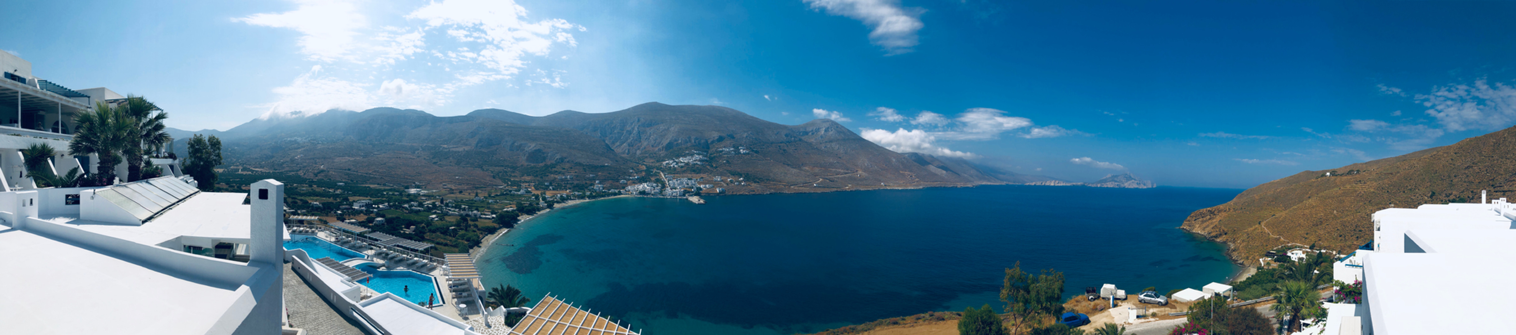 Panoramic View of Aegialis