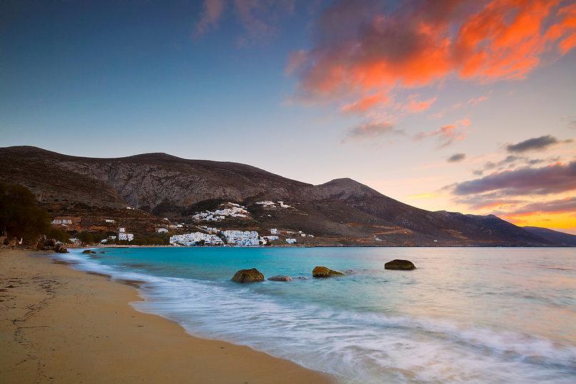 Aegiali village as seen from the beach, Amorgos island..jpg