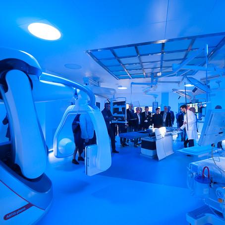 Inaugurazione della Sala Operatoria Cardiovascolare Ibrida alla Poliambulanza di Brescia