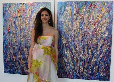 Carolina Alfonso Artiste Equatorienne