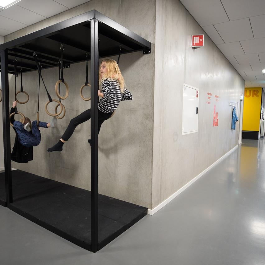 Ninja module's in de gangen
