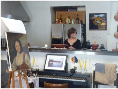 Nedda Descalzi Artiste Equatorienne